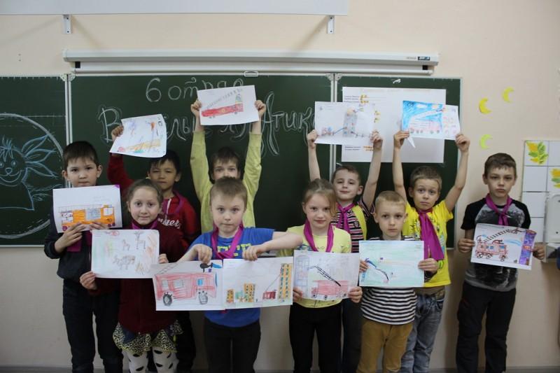 Конкурс рисунков невский район
